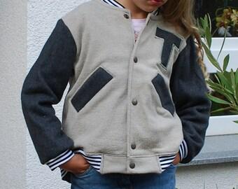 College jacket unisex Gr. 136-140