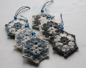 Set 6 winter stars