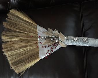 Elegantly Crafted Wedding Broom