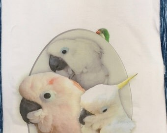 Custom Photo Imprinted Crew Neck Tee Shirt