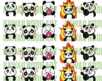 Panda Sticker Printable