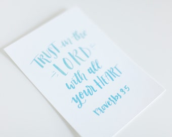 Print - Trust in the Lord