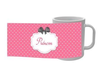 Retro mug Cup den with custom name - 3 colors