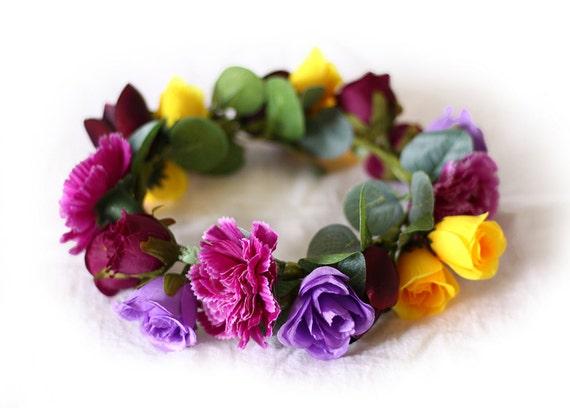 Floral Circle Collar