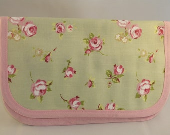 Green Floral Tool Roll