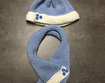 Baby set Hat & scarf