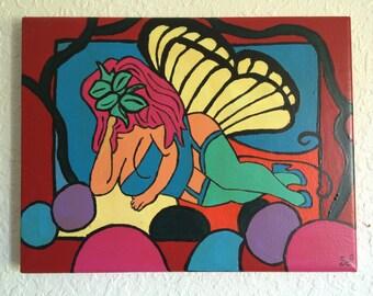 Butterfly 1 woman