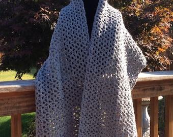 Crocheted Shawl / Wrap