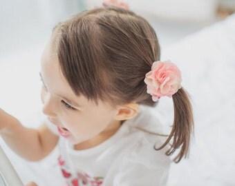 Daisy Flower hair Ties