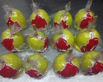 Flavored Candy Apples