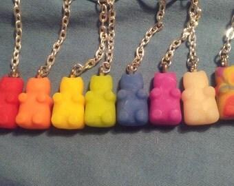 Gummy Bear Keychains