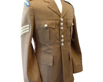 Scots Guards Sergeant Uniform Man's No.2 Dress Army Tunic - Footguards - Size 170/96/80