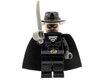Custom Designed Minifigure - Spanish Hero Zorro