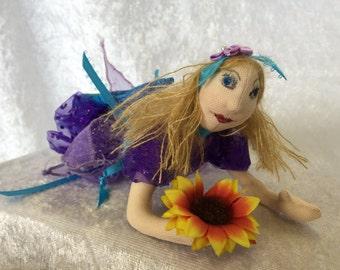 Ena- Cloth Pixie Doll