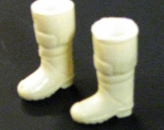 1:25 scale model fire truck turnout boots firefighter fireman