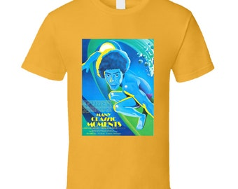 Vintage Surf Film T-shirt Many Classic Moments