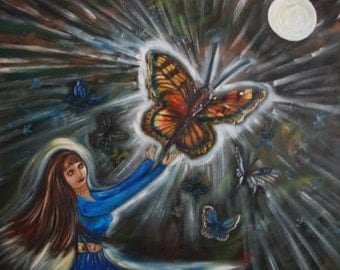 Butterfly Dreams limited edition print
