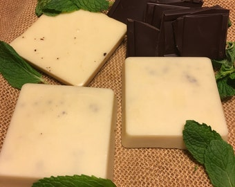 Chocolate Mint Massage Bar
