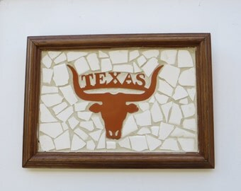 University of Texas ( UT) Tile Art Picture