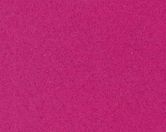 Fuchsia Craft Felt Fabric - Kunin Felt - Pink Crafting Felt