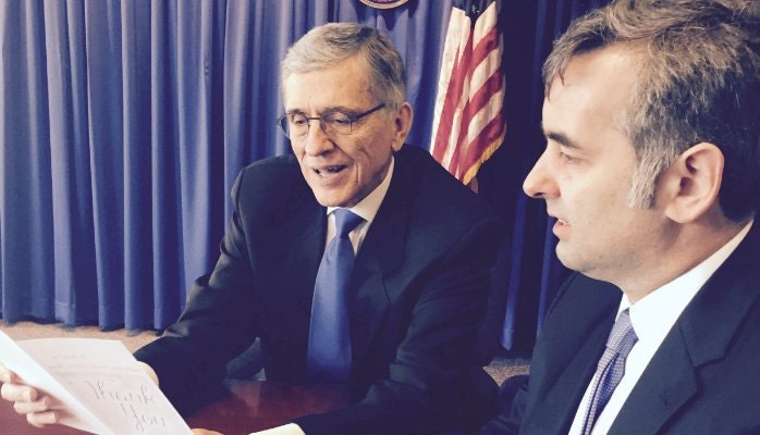 FCC Chairman Wheeler and Etsy CEO, Chad Dickerson