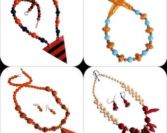 Tribal 4 pcs handmade designer jewelery catalog full set superwholesale  series free ship