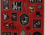 SAN-X Sentimental Circus Secret Anniversary Stickers: Red