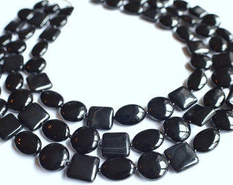 The Julie- Black Onyx Statement Necklace