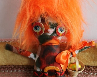 Bunster - Orange Haired Luflie Bunny