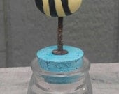 sale...home decor...rusty peach collection...bee jar