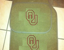 Popular Items For Monogrammed Car Mat On Etsy