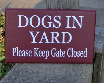 Be Careful Of Cat Please Keep Door Closed Wood Vinyl Sign