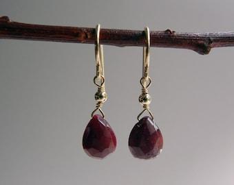 Ruby Erato Earrings