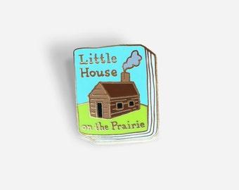 Book Pin: Little House on the Prairie