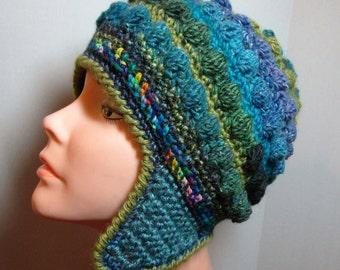 Freeform Freestyle Crochet Helmet Hat