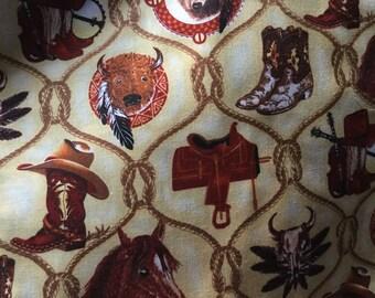 Western Cowboy Hot Bowl Hot Pad