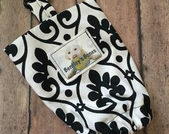 Doggie Leash Bag - Royal Print