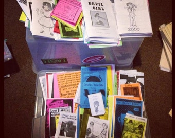 ALL THE ZINES zine grab bag!!!