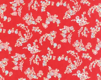 Little Ruby - Little Lady in Red: sku 55136-11 cotton quilting fabric by Bonnie and Camille for Moda Fabrics - 1 yard