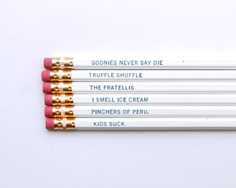 Pencils // The Goonies Pencils