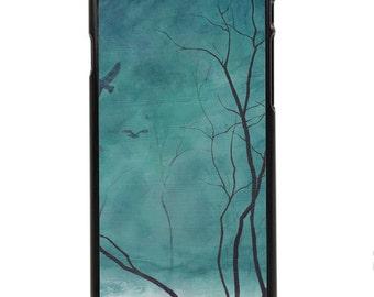 "Phone Case ""Awakening"" - Art Giclee Print Gothic Forest Haunted Scene Canadian Landscape Painting By Olga Cuttell"