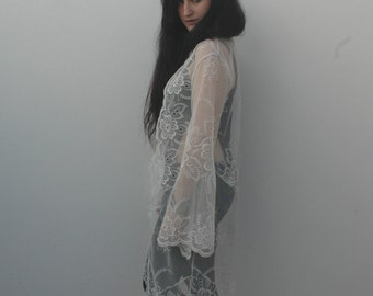 NEW FOR SPRING // corallina // long lace tunic