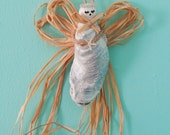 Beachy Oyster Shell Angel/Ornament/decor/wedding/summer