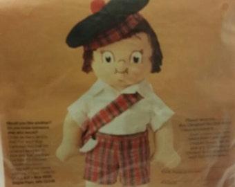 Vintage Campbells Soup Kids Doll Making Kit