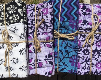 Pillowcases, king size, set of two, handmade bedding, pillow covers, cotton pillowcase