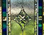 Two Velvet n Lace Window Panels