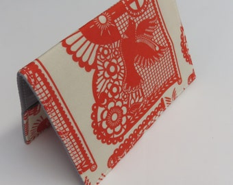 READY TO SHIP - Passport Holder Cover Case Cruise Holiday Travel Holder - Banner Days - Pretty Potent by Anna Maria Horner