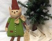 Primitive Christmas Elf
