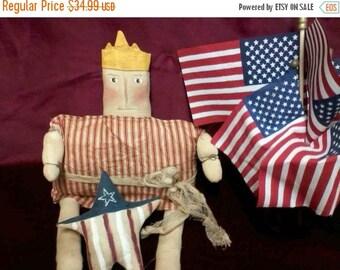 SALE Primitive Americana Lady Liberty ready to ship
