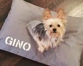 Dog Bed Duvet Cover by Bow Wow Beds, Pet Duvets, Durable Duck Canvas, Designer Dog Bed, Add Pet Name